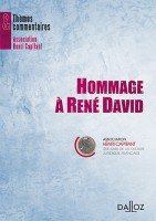 Hommage de l'Association Henri Capitant à René David