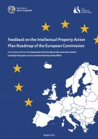 Feedback on the Intellectual Property - Action Plan Roadmap ofthe European Commission